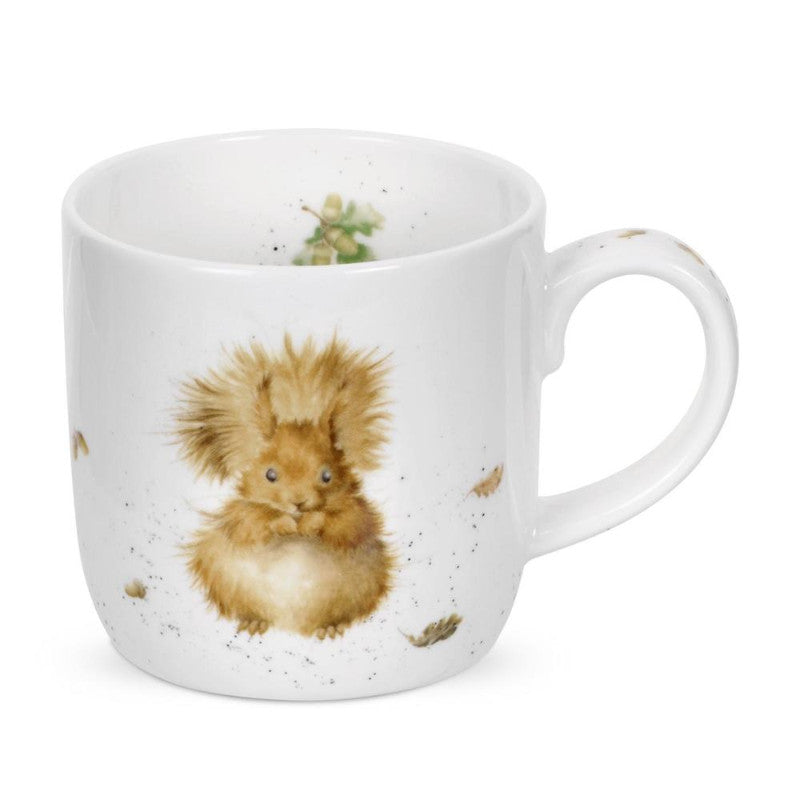 Royal Worcester Wrendale China Mug - Treetops Redhead