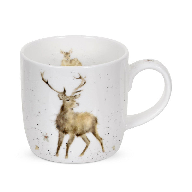 Royal Worcester Wrendale China Mug - Wild At Heart