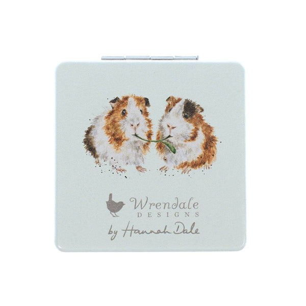 Wrendale Designs Piggy in the Middle Compact Mirror