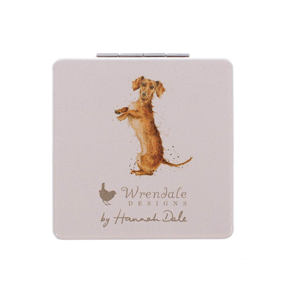 Wrendale Designs That Friday Feeling Compact Mirror - Dachshund