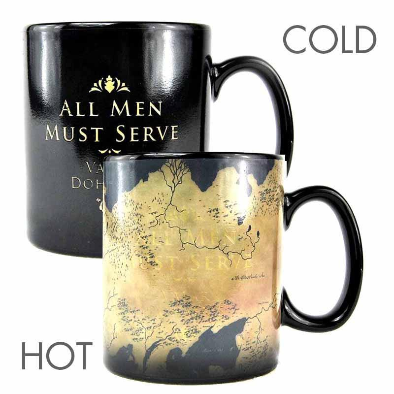 Game of Thrones Map Heat Change 400ml Mug