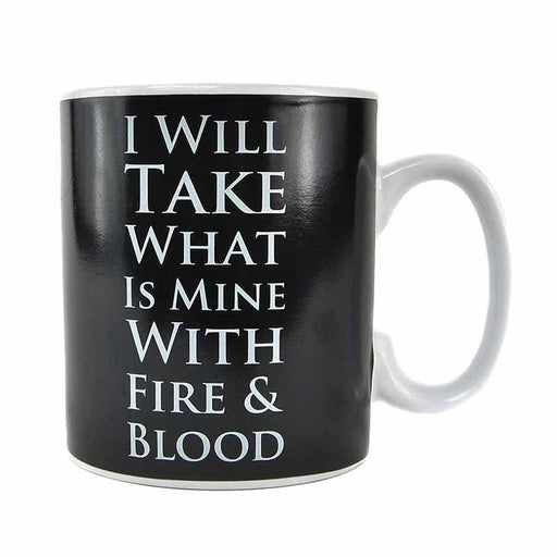 Game of Thrones Daenerys Targaryen Heat Change 400ml Mug