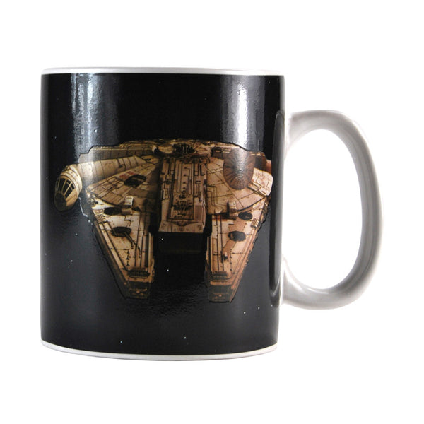 Star Wars Millennium Falcon 400ml Heat Changing Mug