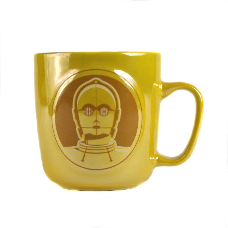 Star Wars C-3PO Embossed Metallic 350ml Mug