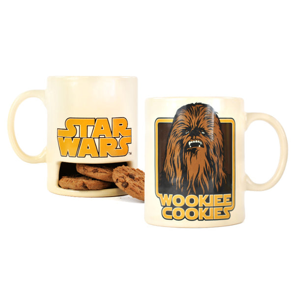 Star Wars Cookie Wookiee 325ml Mug & Cookie Holder