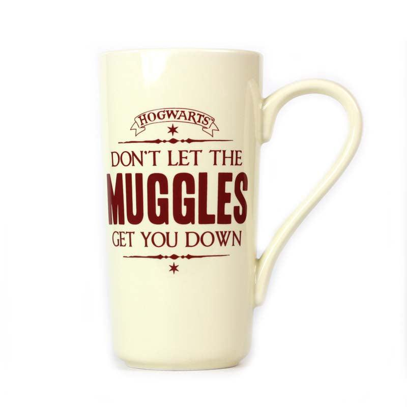 Harry Potter Muggles 500ml Latte Mug