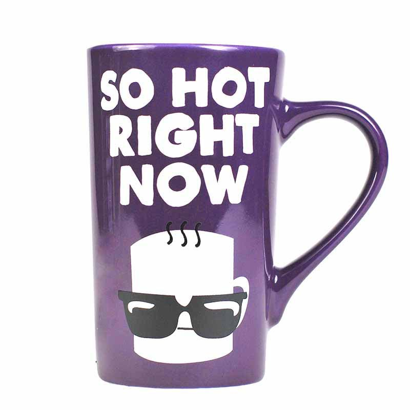 Jolly Awesome 'So Hot Right Now' 500ml Latte Mug