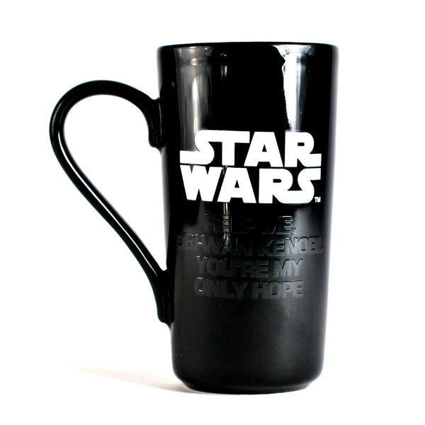Star Wars Princess Leia 400ml Heat Changing Latte Mug
