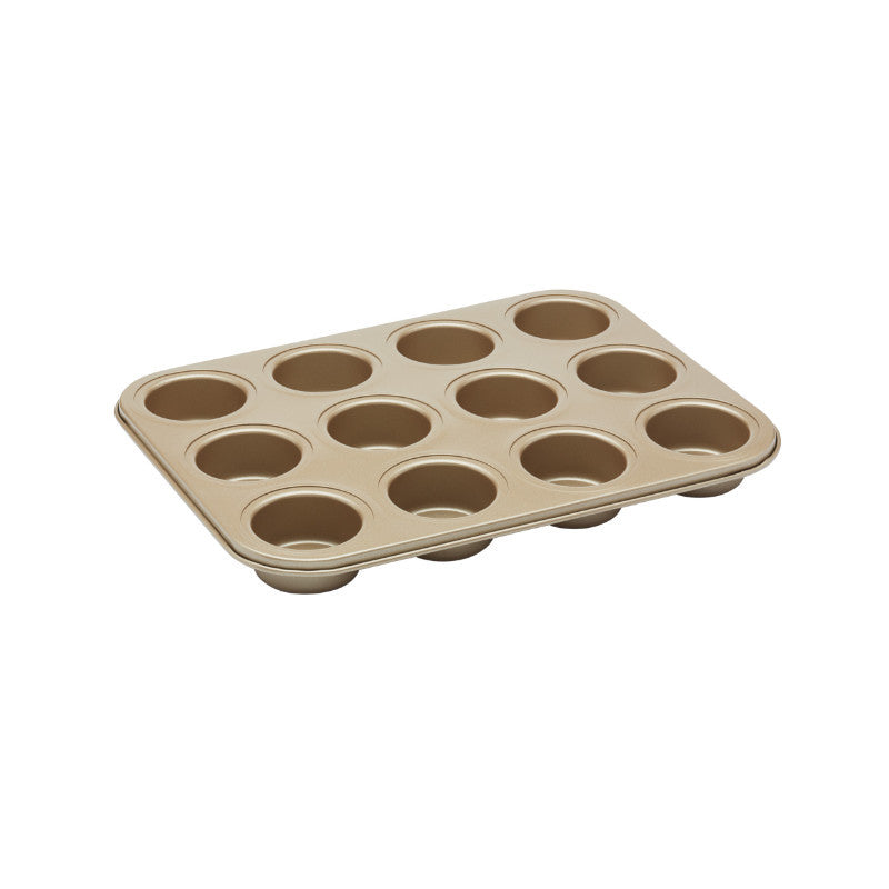 Paul Hollywood 12 Hole Non-Stick Deep Pan Baking Tray