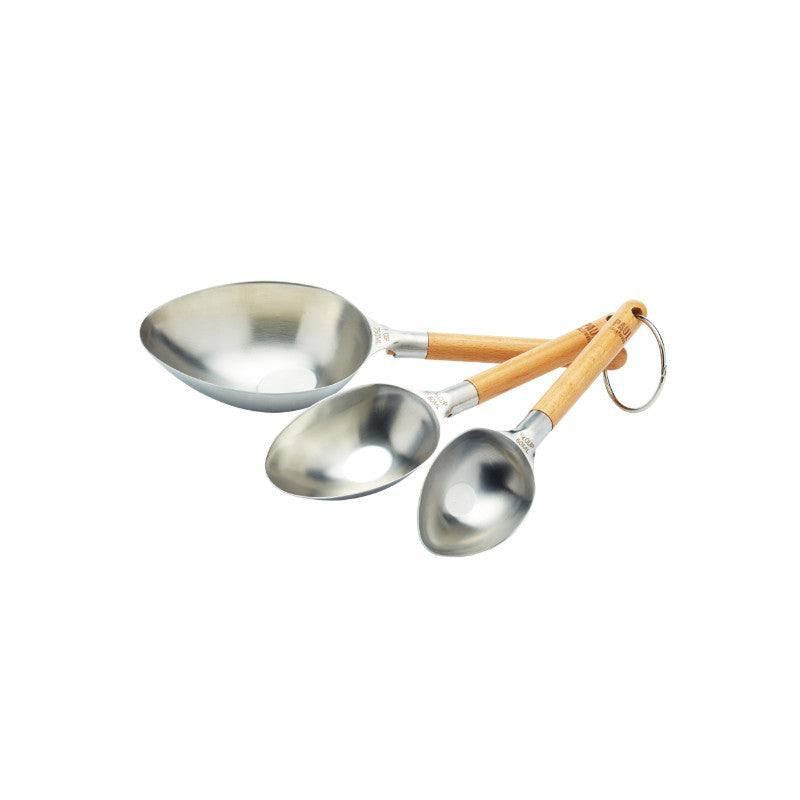 Paul Hollywood 3 Piece Stainless Steel Measuring Cups Scoop Set