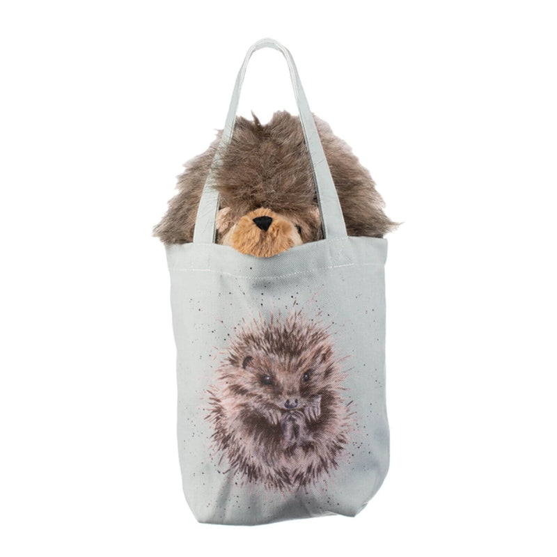 Wrendale Designs by Hannah Dale Plush Toy With Canvas Bag - Mabel the Hedgehog