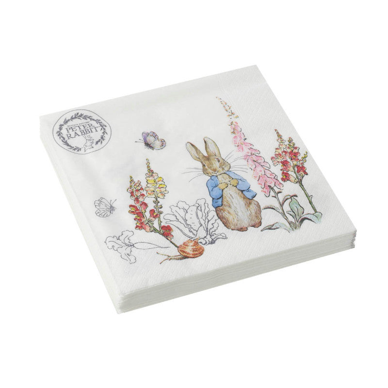 Peter Rabbit Classic 3 Ply Napkins