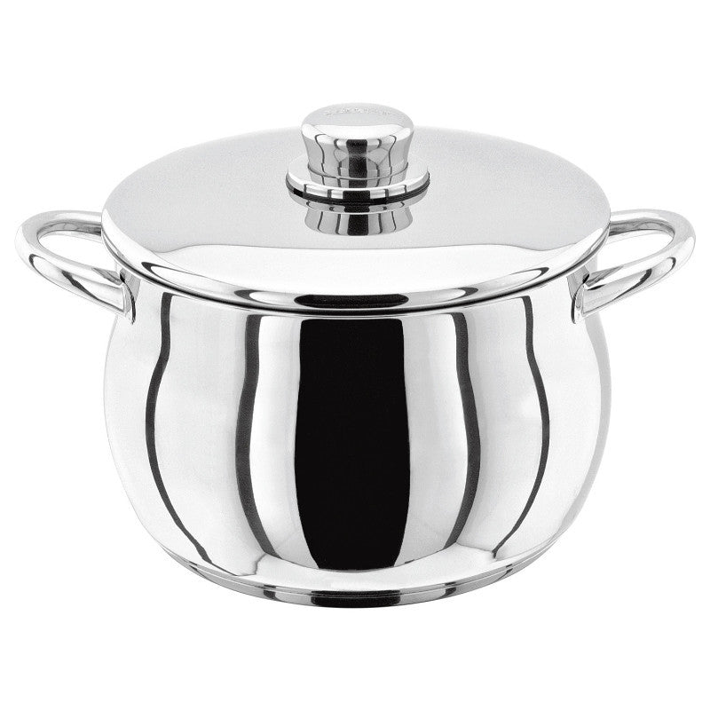 Stellar 1000 22cm Stainless Steel Stockpot 4.4 Litre With Lid