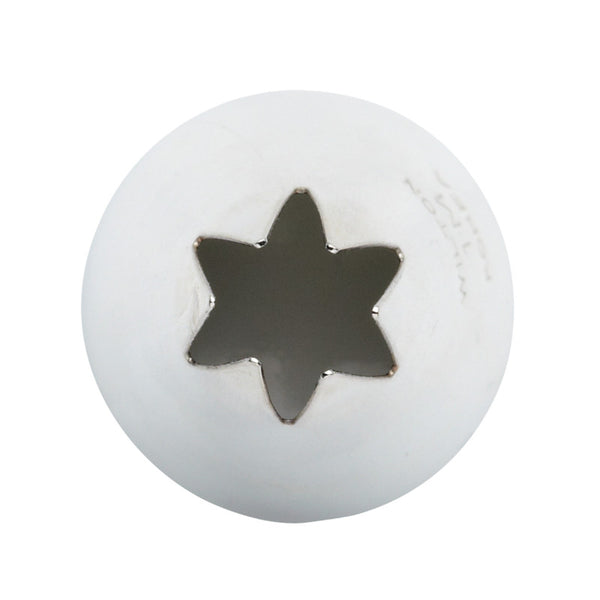 Sweetly Does It Medium Icing Nozzle - Open 6 Point Star
