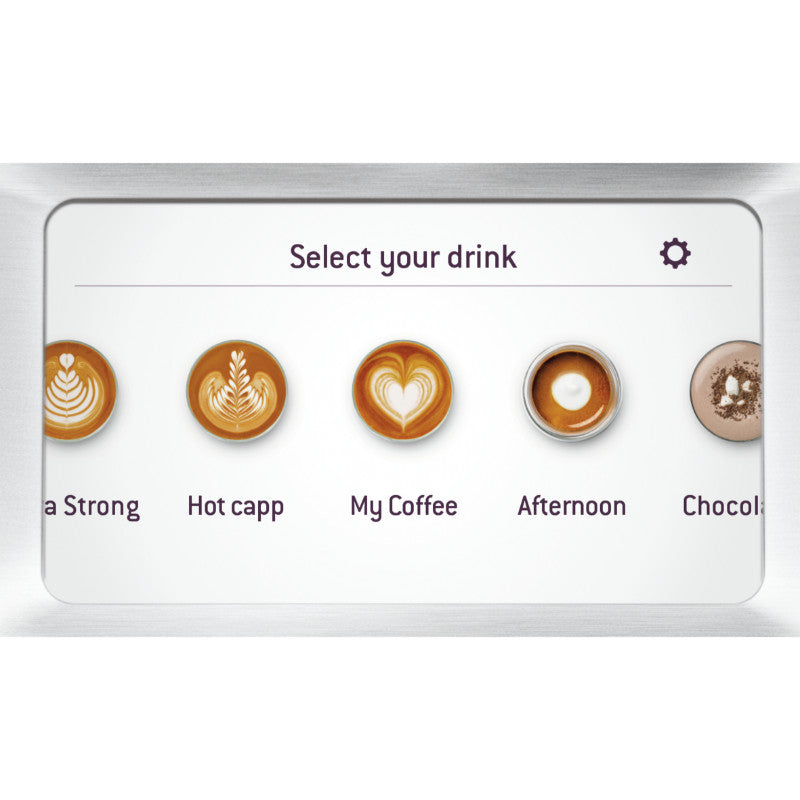 Sage Barista Touch SES880BSS Bean-to-Cup Coffee Machine - Silver