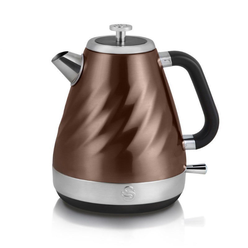 Swan Twist Copper 1.6 Litre Kettle
