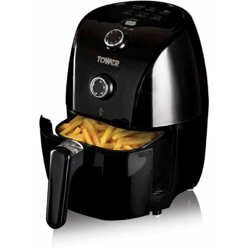 T17025 Tower Compact Black Air Fryer Lifestyle