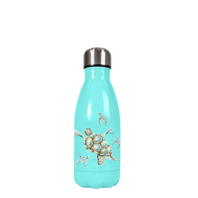 Wrendale Designs Small Water Bottle - Turtle