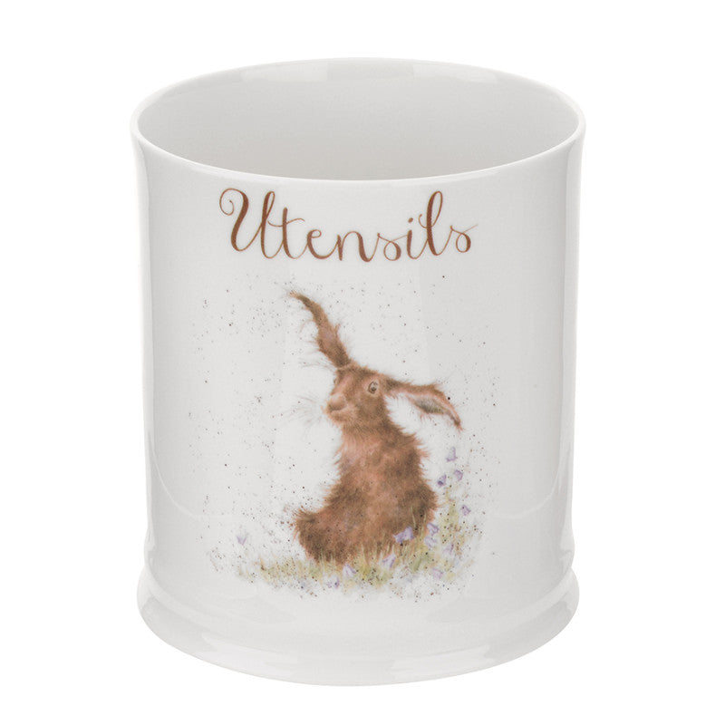 Royal Worcester Wrendale Utensil Jar - Hare