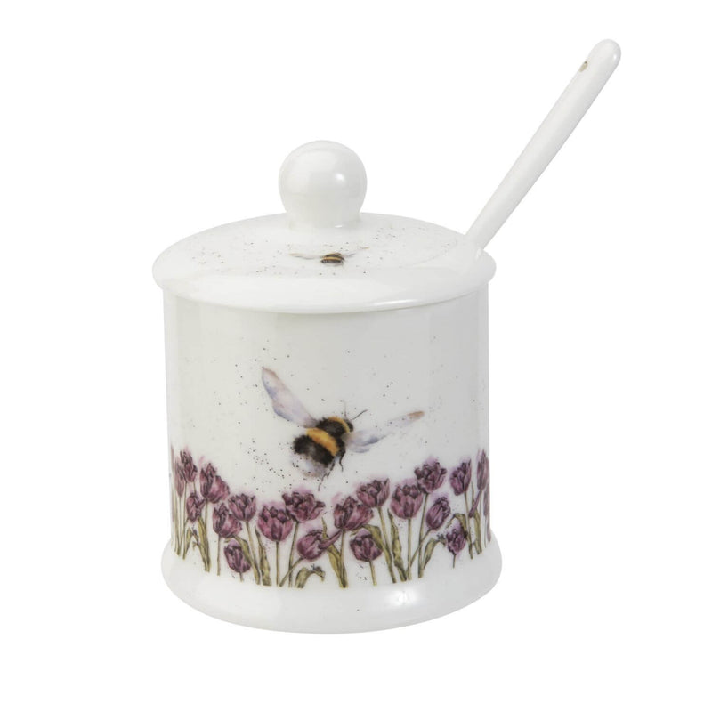 Royal Worcester Wrendale Conserve Pot - Bumblebee