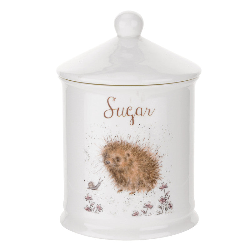 Royal Worcester Wrendale Sugar Canister - Hedgehog