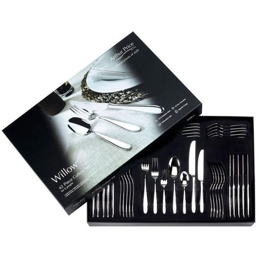 Arthur Price Willow 42 Piece Cutlery Set - ZWIF4201