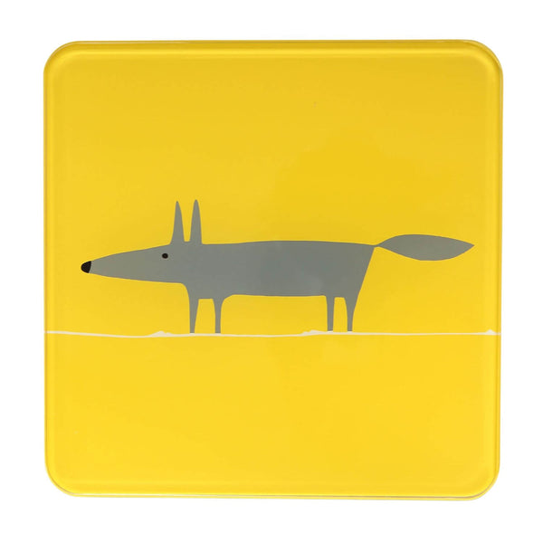 Scion Living Mr Fox Hot Pot Stand - Yellow