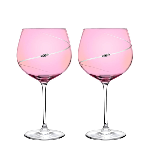 Portmeirion Auris Pink Gin Glasses - Set of 2