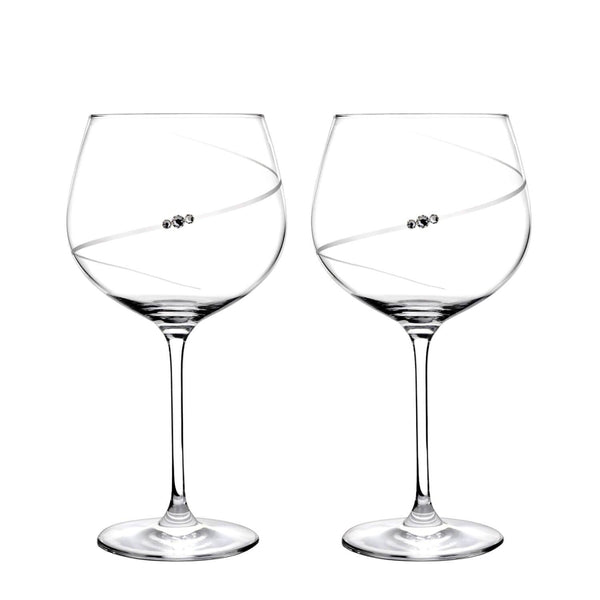 Portmeirion Auris Crystal Gin Glasses - Set of 2