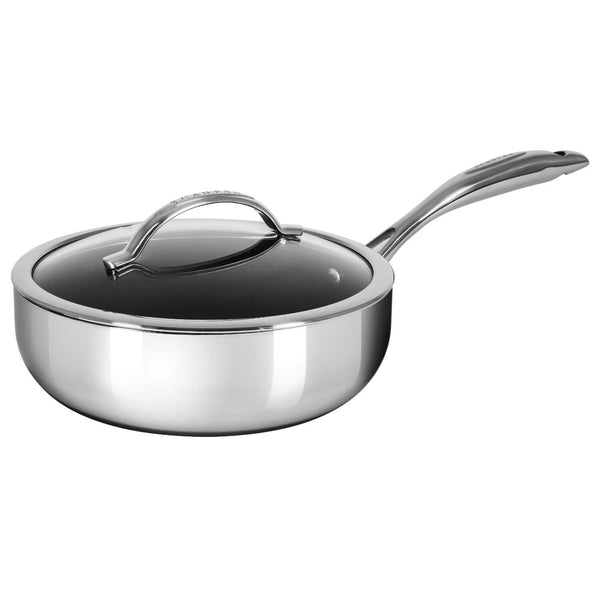Scanpan HaptIQ Non-Stick Deep Saute Pan With Lid - 26cm