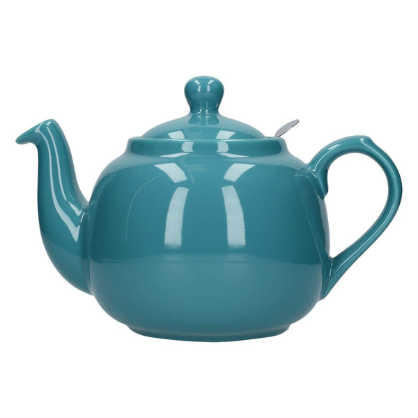 London Pottery Farmhouse 6 Cup Teapot - Aqua