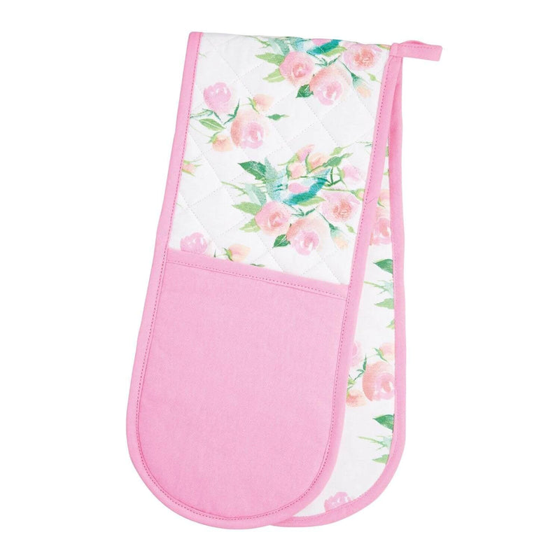 KitchenCraft Double Oven Glove - Rose