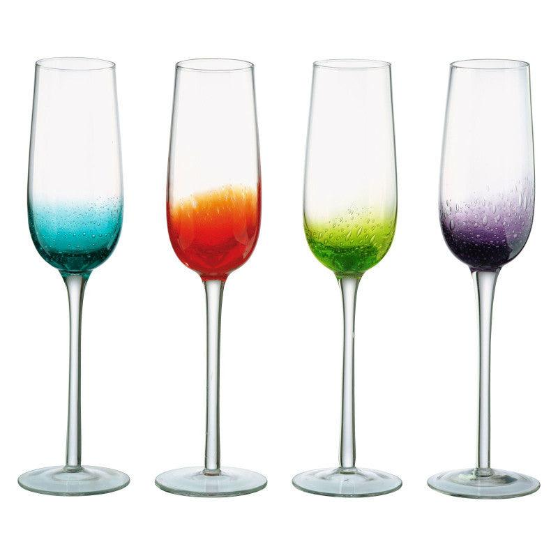 Anton Studio 4 Set 250ml Flute Fizz Glasses