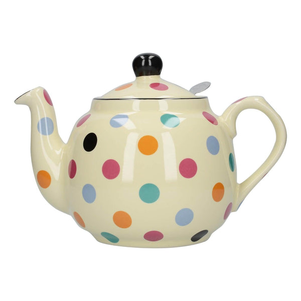London Pottery Farmhouse 4 Cup Teapot - Multi Spot