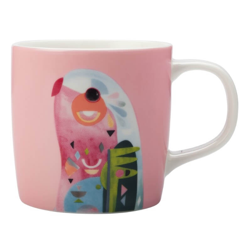 Maxwell & Williams Pete Cromer 375ml Mug - Parrot