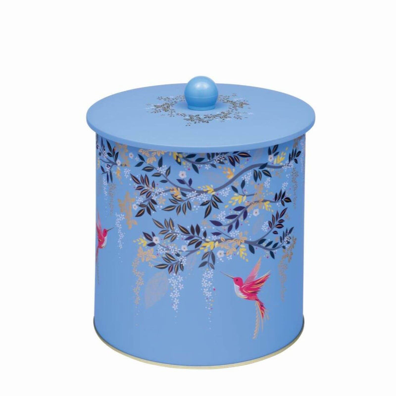 Sara Miller London Chelsea Biscuit Barrel - Blue