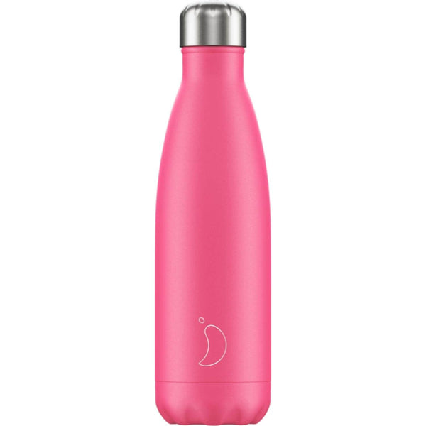 Chilly's 500ml Neon Drinks Bottle - Pink