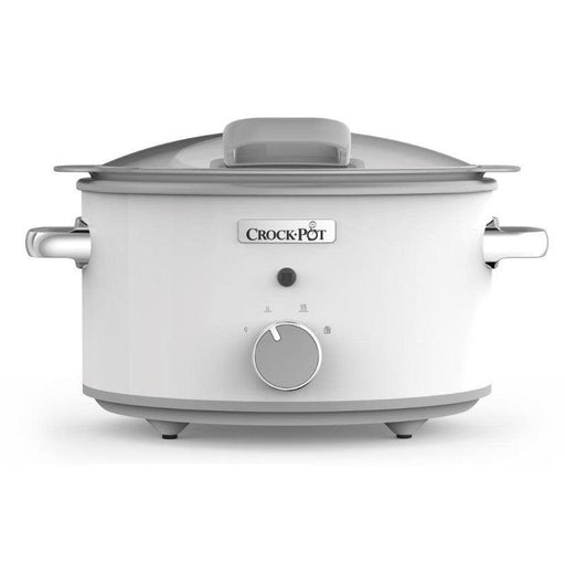 CSC038 Crock-Pot 4.5 Litre White Saute Slow Cooker