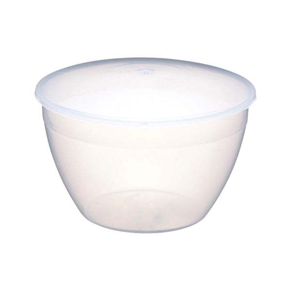 KitchenCraft Plastic Pudding Basin & Lid - 1.7 Litre