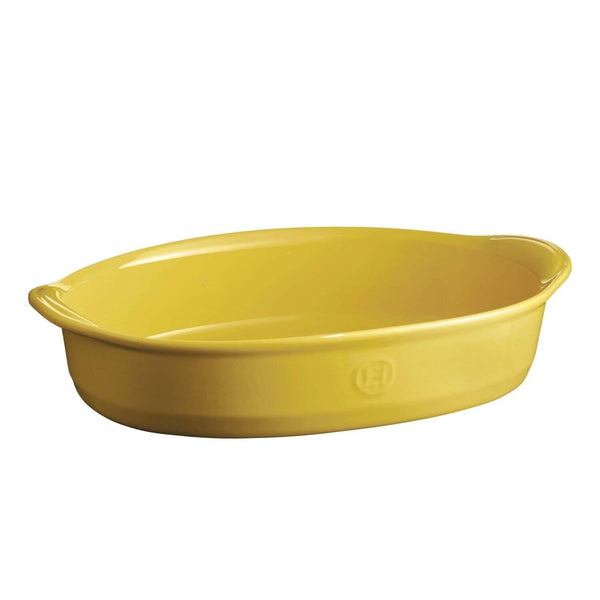 Emile Henry Large Oval Baking Dish - Provence Yellow