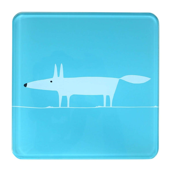 Scion Living Mr Fox Hot Pot Stand - Teal