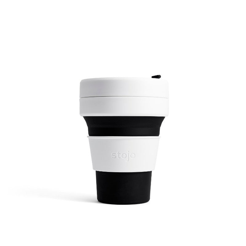 Stojo Pocket 12oz Collapsible Cup - Black