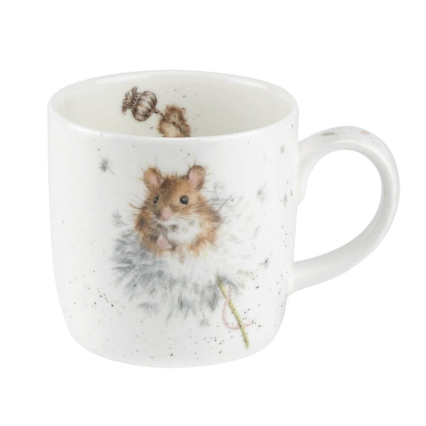Royal Worcester Wrendale China Mug - Country Mice