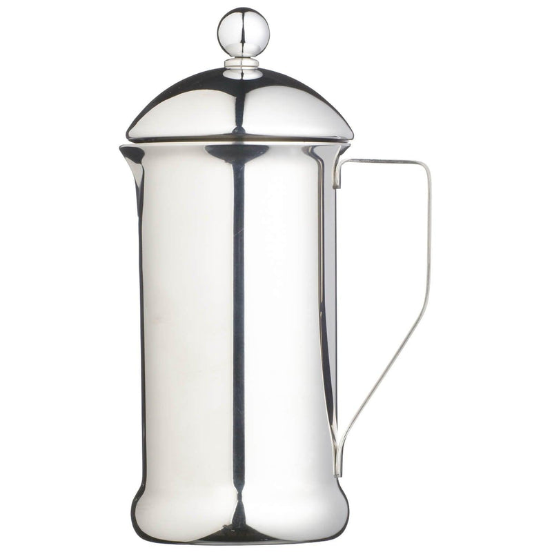 Le'Xpress Single Walled Stainless Steel Cafetiere - 8 Cup