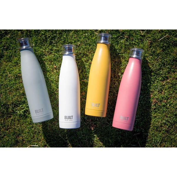 Built Double Walled Drinks Bottle 500ml - Mustard