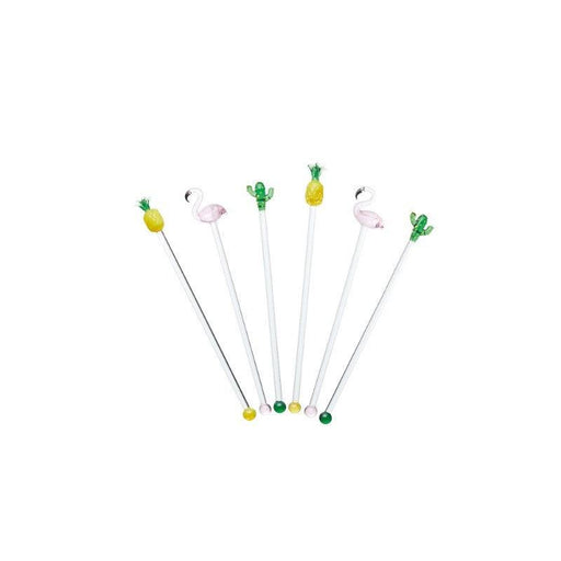 Barcraft Cocktail Stirrers - Set of 6