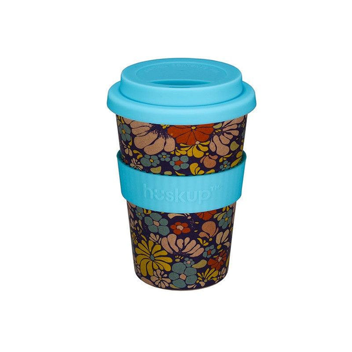 Huskup Floral 400ml Travel Mug - Flower Medley
