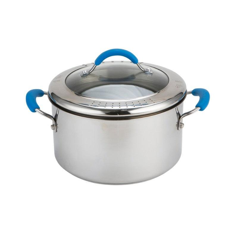 70524 Joe Wicks Quick And Even Stainless Steel 24cm Stock Pot - Main