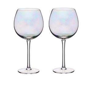 Barcraft Iridescent 500ml Gin Glasses - Set of 2