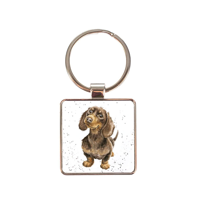 Wrendale Designs by Hannah Dale Keyring - Dachshund Little One